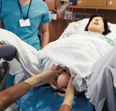 LF00040 - Mateřský a porodní simulátor - rozšířená Lucy