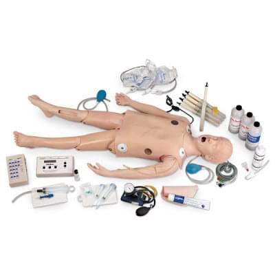LF03617 - Figurína dítěte pro nácvik krizových stavů s interaktivním EKG simulátorem