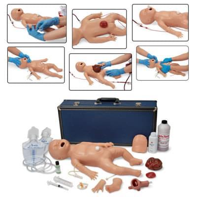 LF01400 - Simulátor novorozence pro nácvik ošetřovatelských dovedností a rozšířené resuscitace