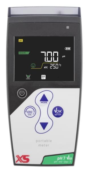 Přenosný pH metr - pH 7 Vio + pH sonda CHS Chemflex