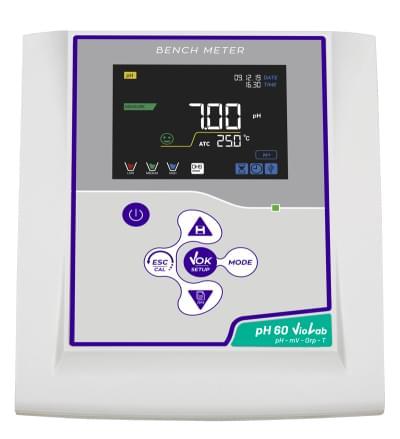 Laboratorní pH metr pH 60 Violab + pH sonda CHS Chemflex NTC30