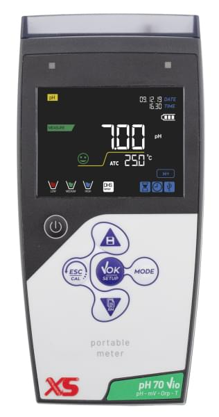 Přenosný pH metr pH 70 Vio + pH sonda CHS Chemflex NTC30
