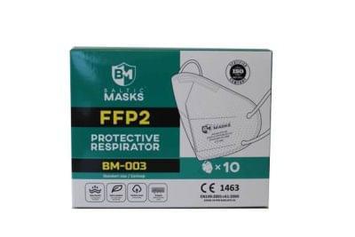 Respirátor FFP2 CE certifikace - (balení 10 ks)