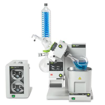 Rotační vakuová odparka Büchi Rotavapor R-300 System - B-301, SJ29/32, V, P+G, I-300, V-300, 230V