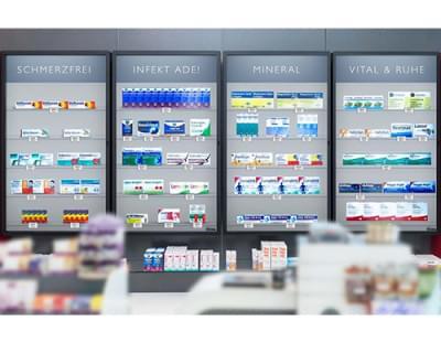 Rowa Vmotion - Nový způsob prezentace produktů v lékárnách