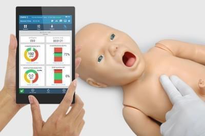 Simulátor novorozence Pedi pro záchranu života + OMNI2