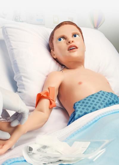 S2225 – Pediatrický pacientský simulátor HAL – pětileté dítě