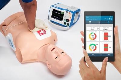 S 315.600 - HAL® Trenažér dospělého CPR+D pro nácvik KPR + OMNI2