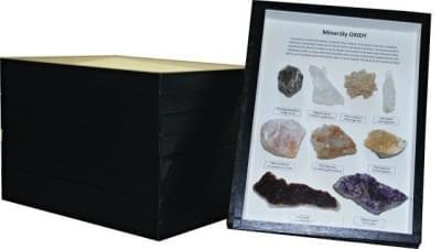 Sbírka minerálů - (5 krabic)