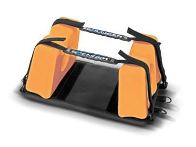 Super Blue - kompaktní univerzální fixátor hlavy (oranžový)