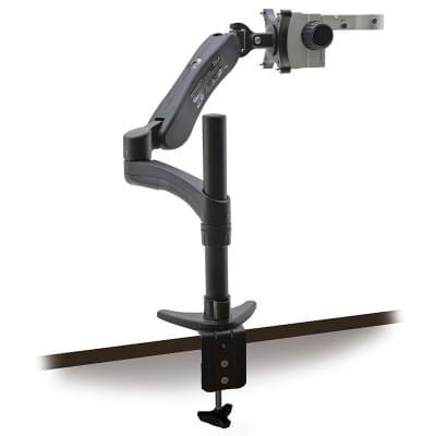 SZ-STL5 - průmyslový stojan na mikroskop s uchycením na stůl a držákem pro montáž na stěnu