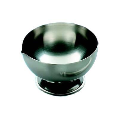 Třecí nerezová miska, průměr 155 - 160 mm