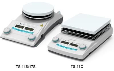 TS-17SG - Magnetická míchačka s ohřevem