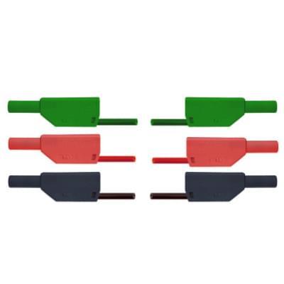 Sada tří bezpečnostních pokusných kabelů pro pokusy s volným pádem
