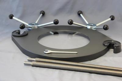 Upínací zařízení standard pro síta Ø400 / 450 mm