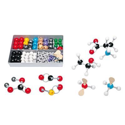 Sada organických / anorganických modelů S